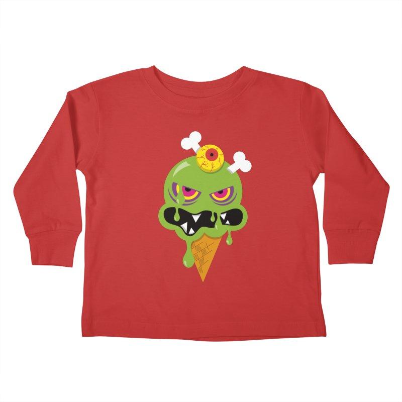 ICE-SCREAM Kids Toddler Longsleeve T-Shirt by theGHOSTHEART's artist shop