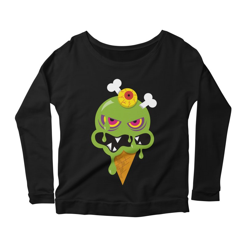 ICE-SCREAM Women's Scoop Neck Longsleeve T-Shirt by theGHOSTHEART's artist shop