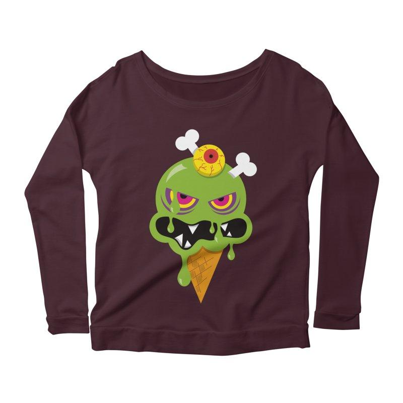 ICE-SCREAM Women's Scoop Neck Longsleeve T-Shirt by theGHOSTHEART's artist shop