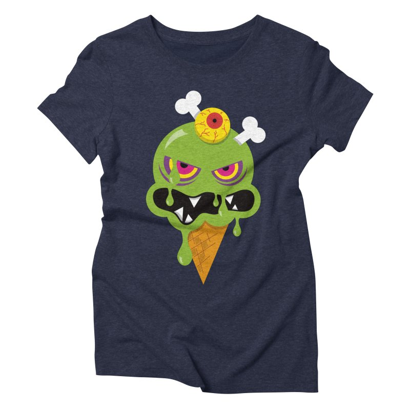 ICE-SCREAM Women's Triblend T-Shirt by theGHOSTHEART's artist shop