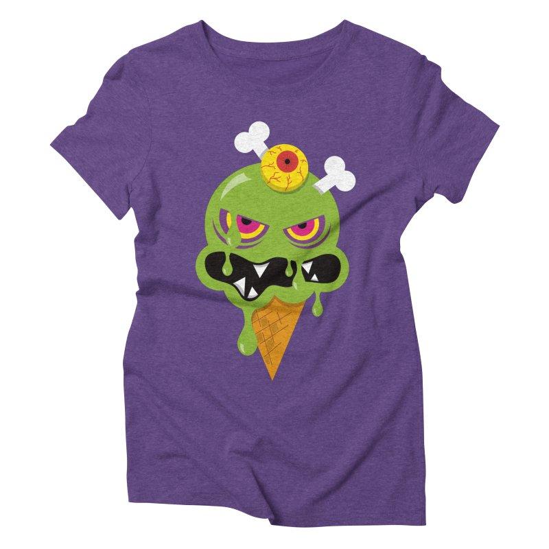 ICE-SCREAM Women's Triblend T-Shirt by theGHOSTHEART's artist shop