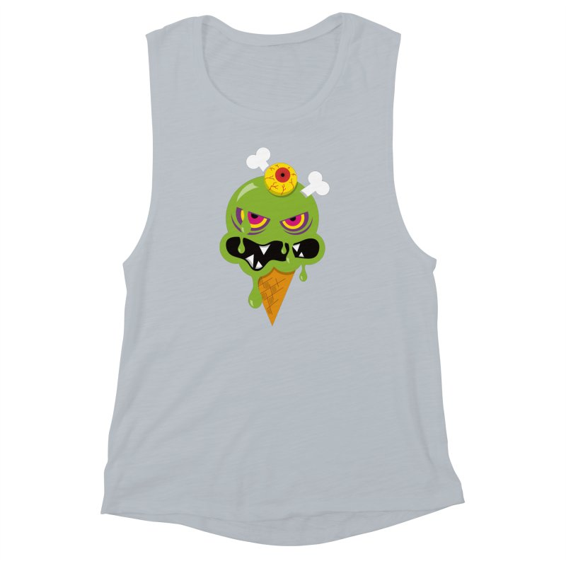 ICE-SCREAM Women's Muscle Tank by theGHOSTHEART's artist shop