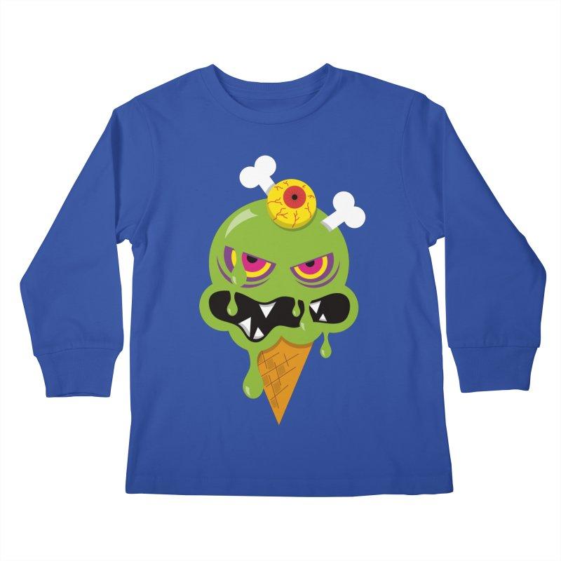 ICE-SCREAM Kids Longsleeve T-Shirt by theGHOSTHEART's artist shop