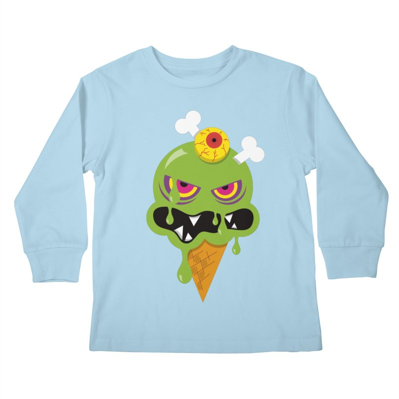 ICE-SCREAM Kids Longsleeve T-Shirt by theGHOSTHEART's artist shop