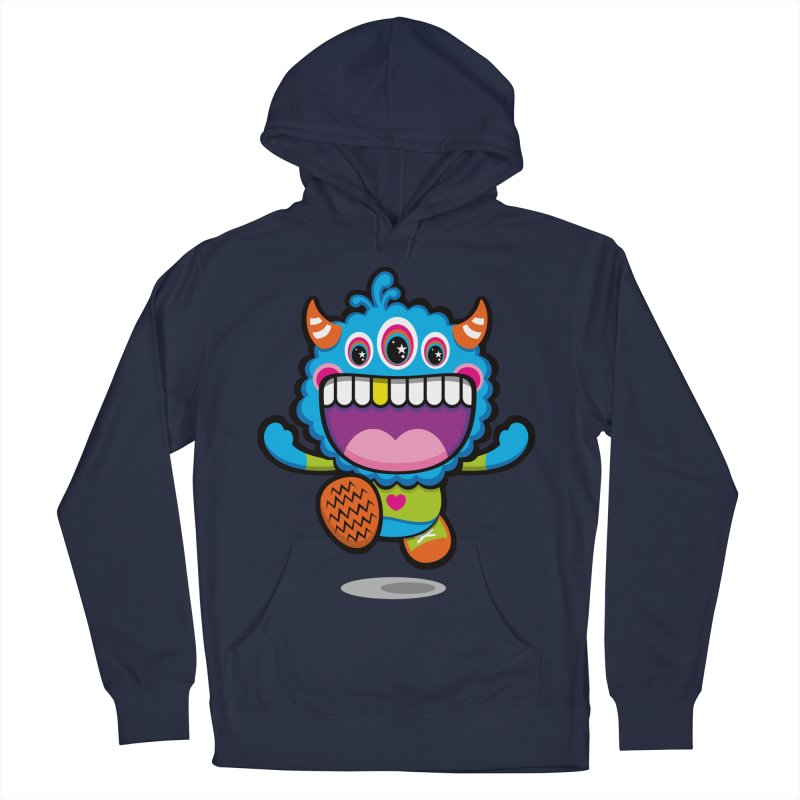 SUPER HAPPY FUN TIME! YAY! Men's French Terry Pullover Hoody by theGHOSTHEART's artist shop