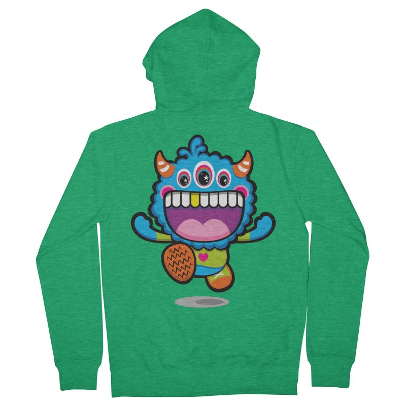 SUPER HAPPY FUN TIME! YAY! Women's French Terry Zip-Up Hoody by theGHOSTHEART's artist shop