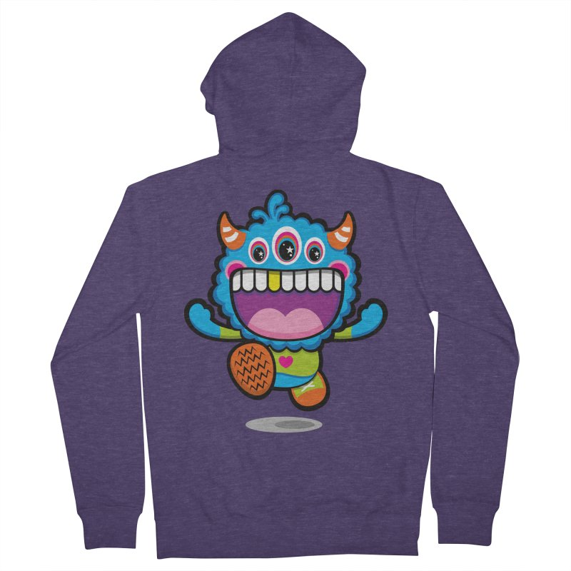 SUPER HAPPY FUN TIME! YAY! Men's French Terry Zip-Up Hoody by theGHOSTHEART's artist shop