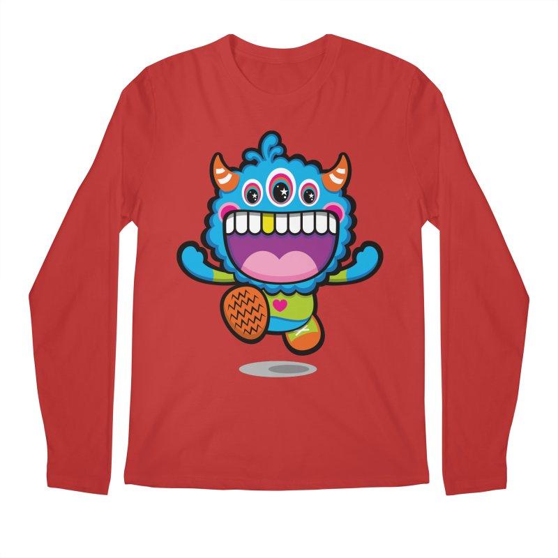 SUPER HAPPY FUN TIME! YAY! Men's Regular Longsleeve T-Shirt by theGHOSTHEART's artist shop