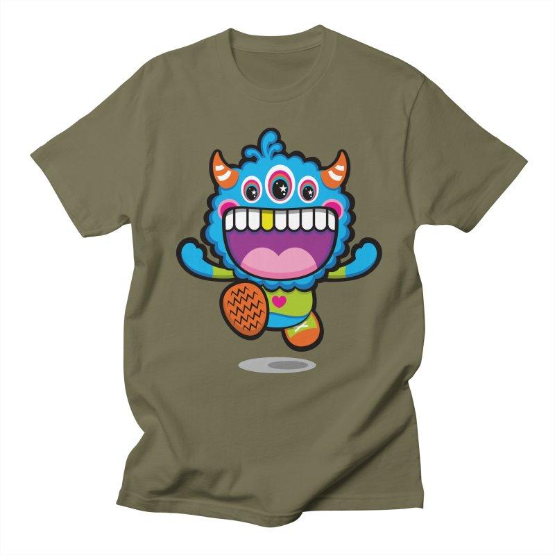 SUPER HAPPY FUN TIME! YAY! Men's Regular T-Shirt by theGHOSTHEART's artist shop