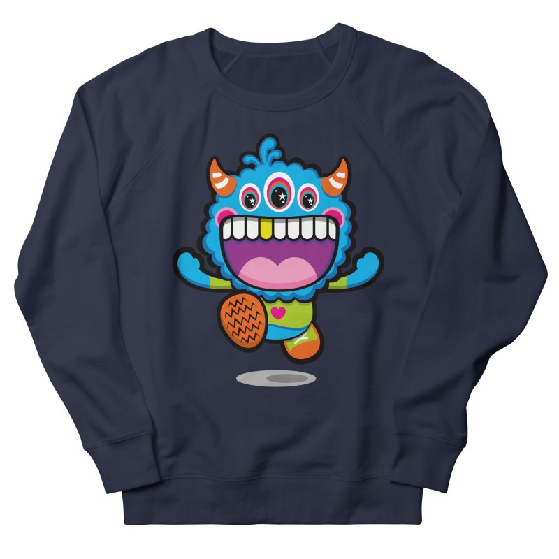 SUPER HAPPY FUN TIME! YAY! Women's French Terry Sweatshirt by theGHOSTHEART's artist shop