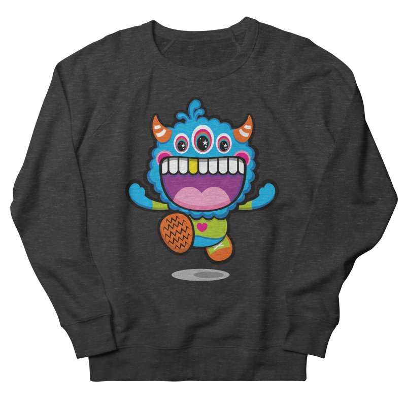 SUPER HAPPY FUN TIME! YAY! Men's French Terry Sweatshirt by theGHOSTHEART's artist shop