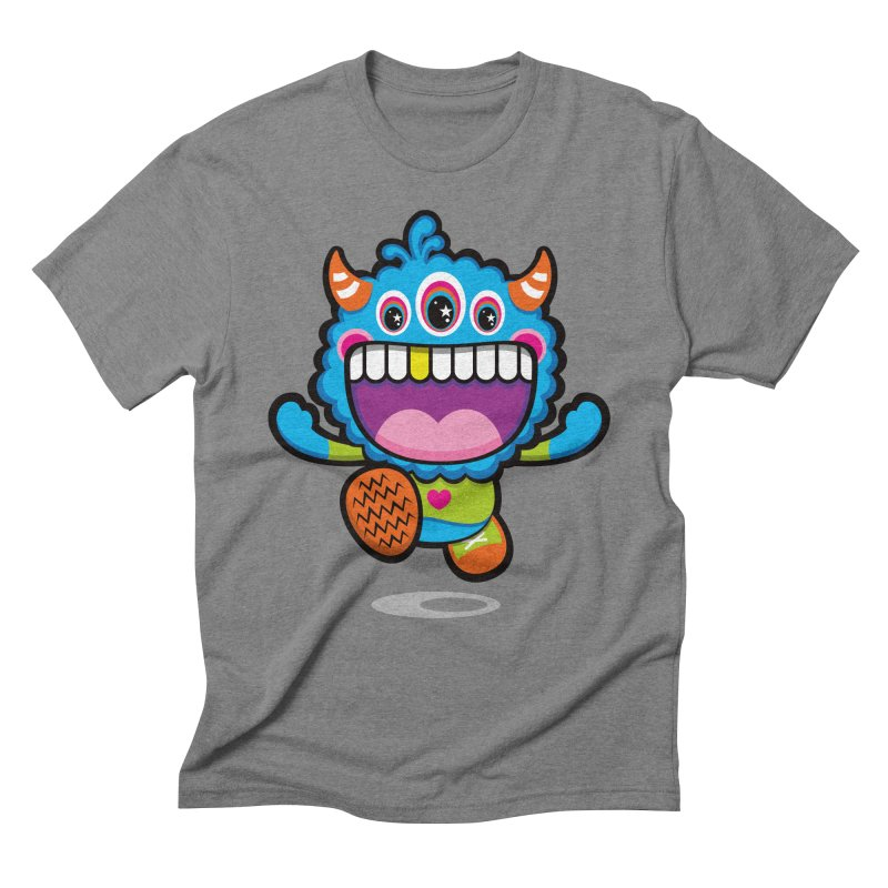 SUPER HAPPY FUN TIME! YAY! Men's Triblend T-Shirt by theGHOSTHEART's artist shop