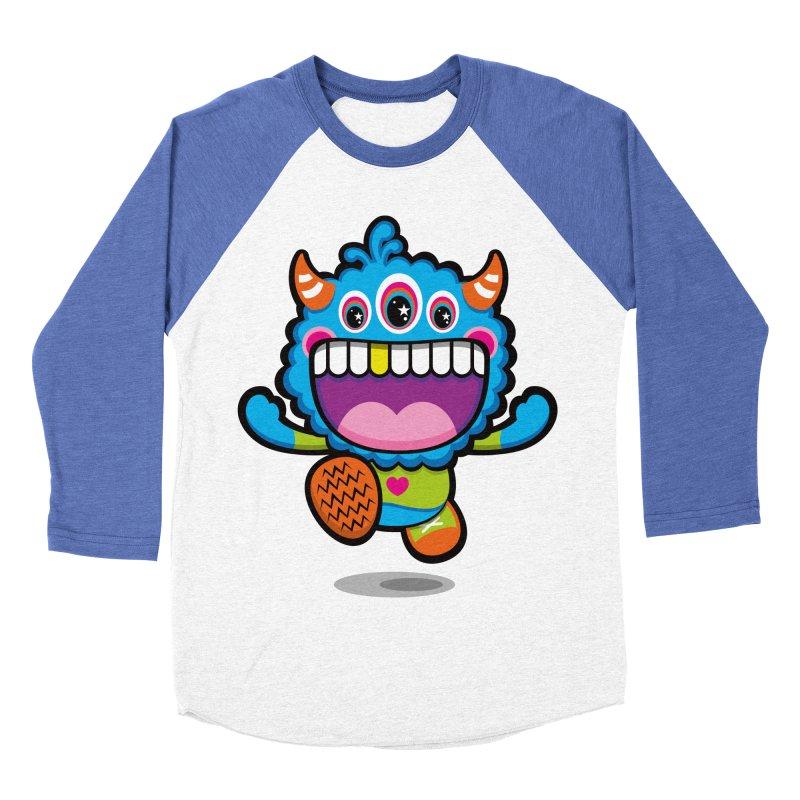 SUPER HAPPY FUN TIME! YAY! Men's Baseball Triblend Longsleeve T-Shirt by theGHOSTHEART's artist shop