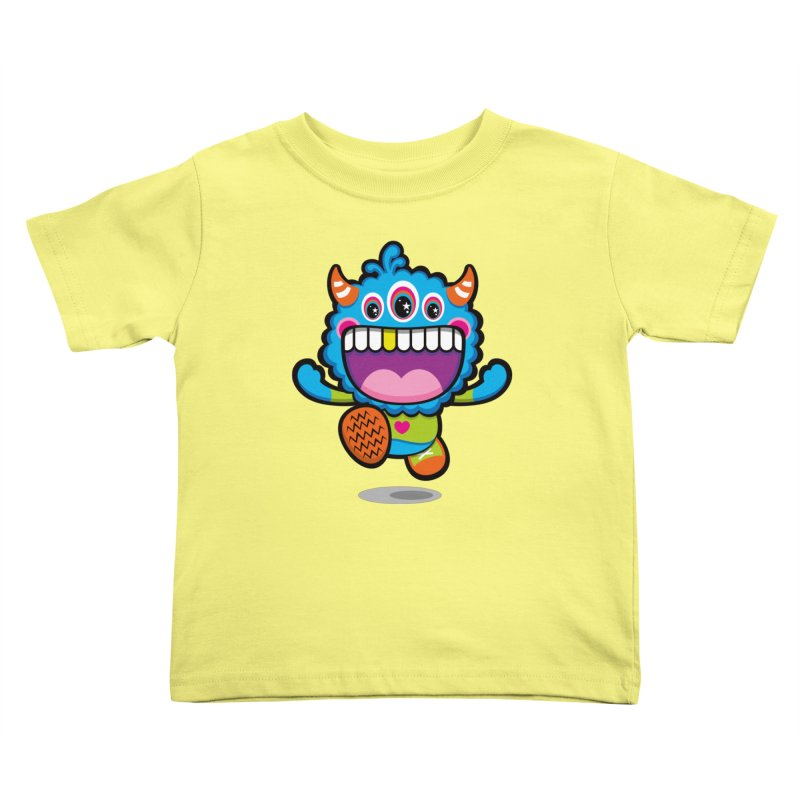 SUPER HAPPY FUN TIME! YAY! Kids Toddler T-Shirt by theGHOSTHEART's artist shop