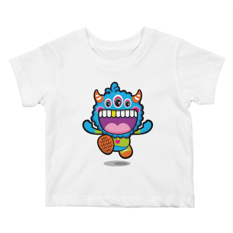 SUPER HAPPY FUN TIME! YAY! Kids Baby T-Shirt by theGHOSTHEART's artist shop