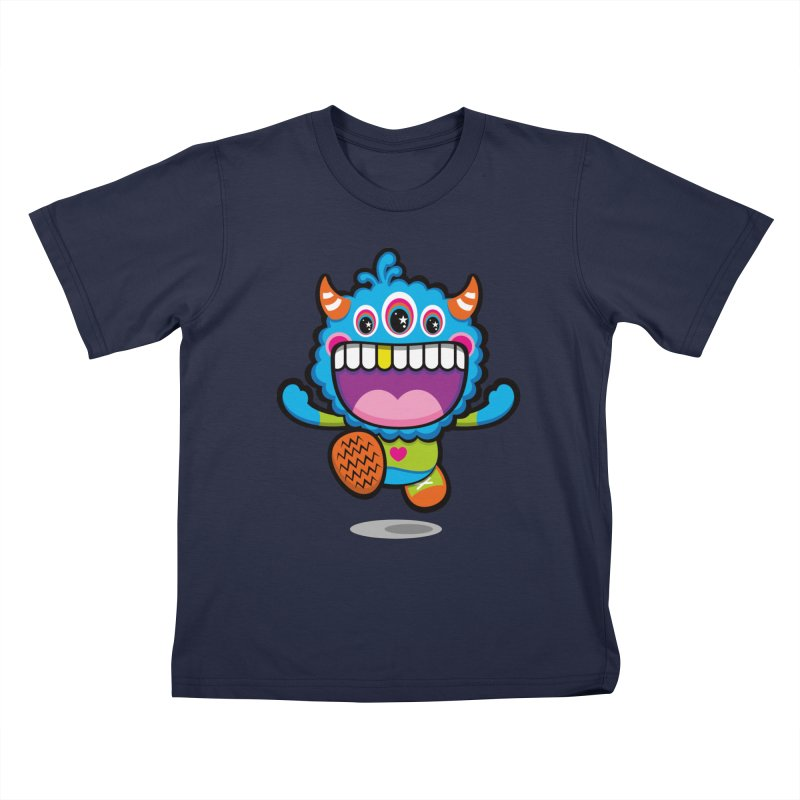 SUPER HAPPY FUN TIME! YAY! Kids T-Shirt by theGHOSTHEART's artist shop