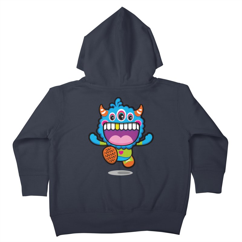 SUPER HAPPY FUN TIME! YAY! Kids Toddler Zip-Up Hoody by theGHOSTHEART's artist shop