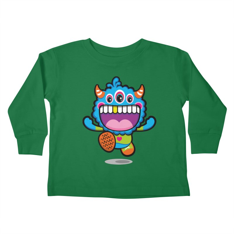 SUPER HAPPY FUN TIME! YAY! Kids Toddler Longsleeve T-Shirt by theGHOSTHEART's artist shop