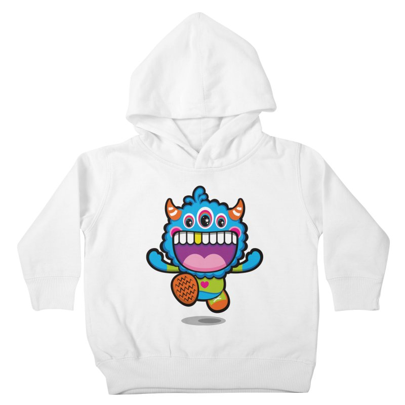 SUPER HAPPY FUN TIME! YAY! Kids Toddler Pullover Hoody by theGHOSTHEART's artist shop