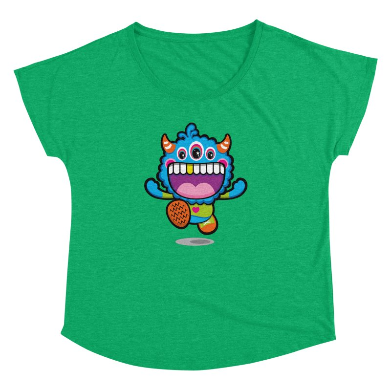 SUPER HAPPY FUN TIME! YAY! Women's Dolman Scoop Neck by theGHOSTHEART's artist shop