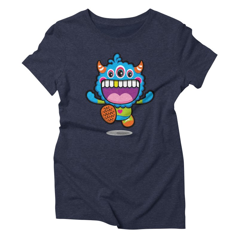 SUPER HAPPY FUN TIME! YAY! Women's Triblend T-Shirt by theGHOSTHEART's artist shop