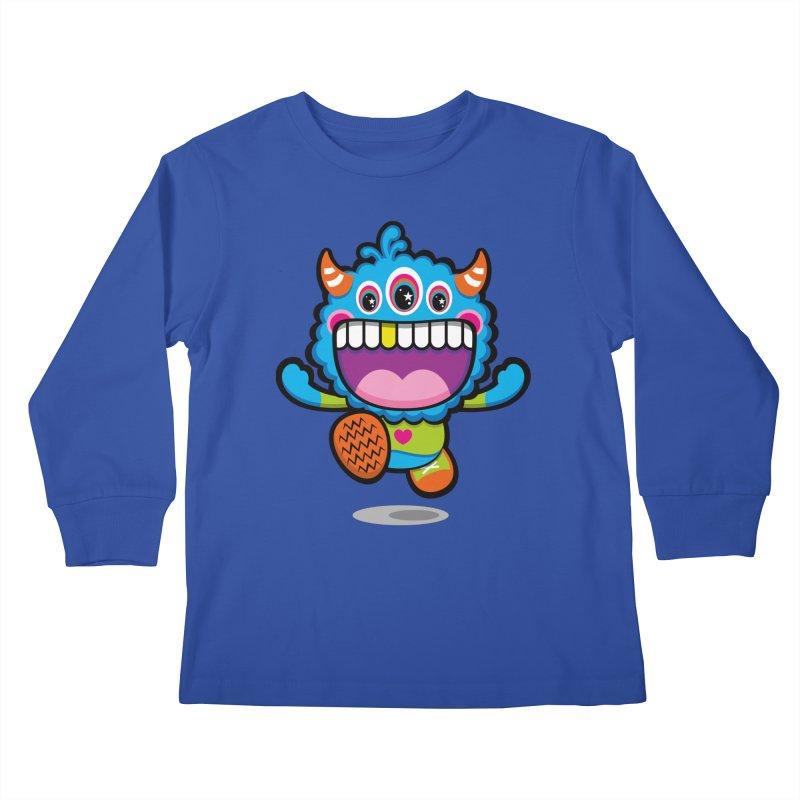 SUPER HAPPY FUN TIME! YAY! Kids Longsleeve T-Shirt by theGHOSTHEART's artist shop