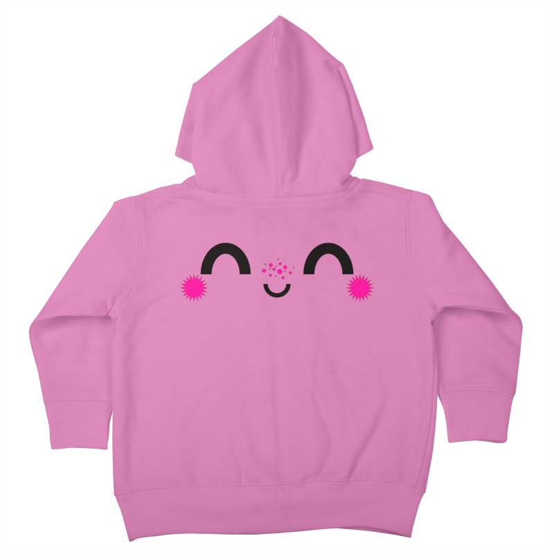 HAPPY FUN SMILE TIME! Kids Toddler Zip-Up Hoody by theGHOSTHEART's artist shop