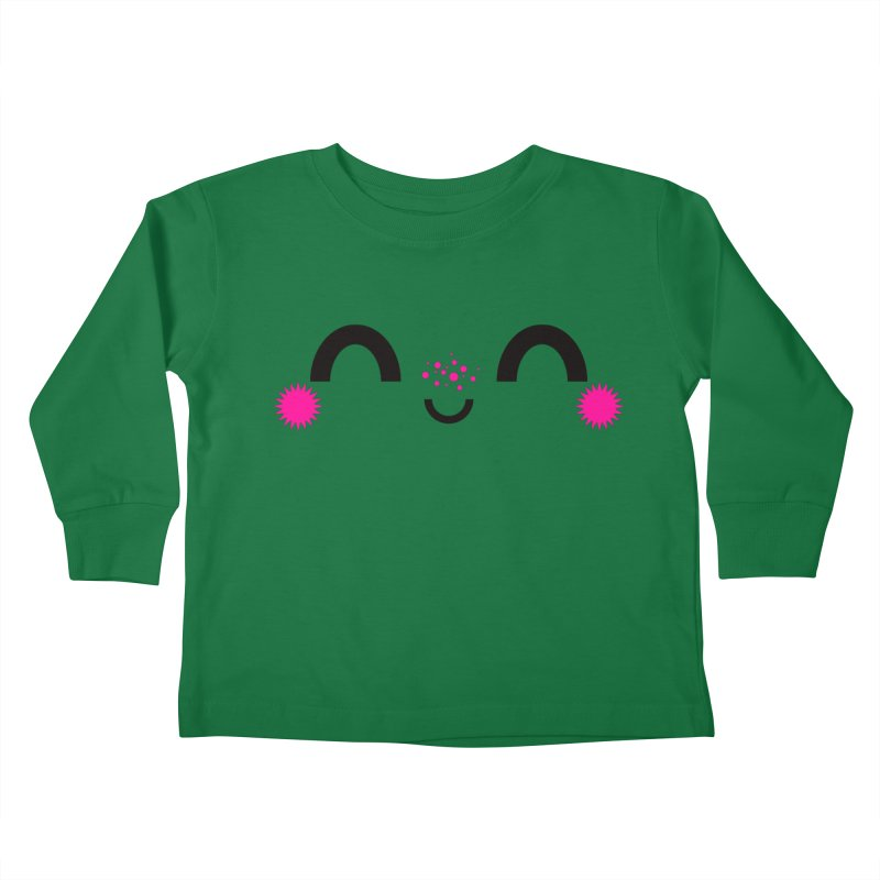 HAPPY FUN SMILE TIME! Kids Toddler Longsleeve T-Shirt by theGHOSTHEART's artist shop