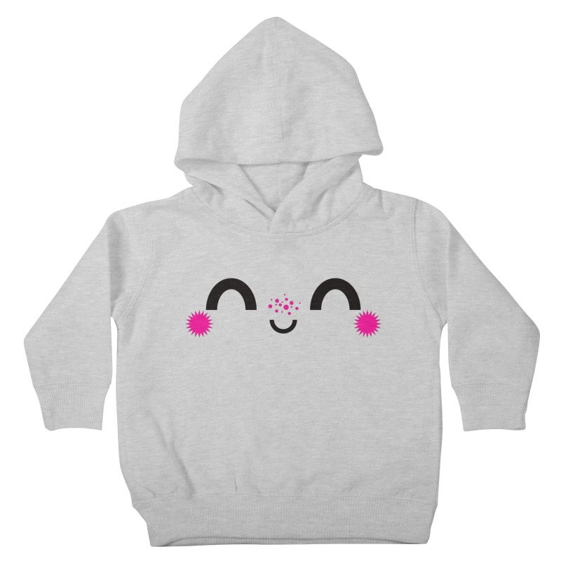 HAPPY FUN SMILE TIME! Kids Toddler Pullover Hoody by theGHOSTHEART's artist shop