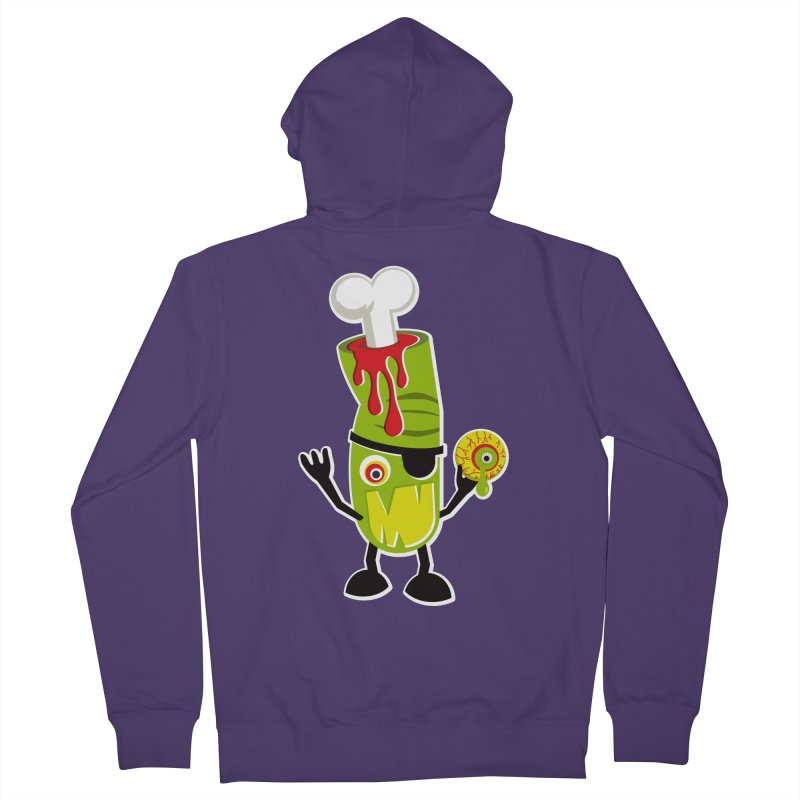 BAD TOUCH Women's French Terry Zip-Up Hoody by theGHOSTHEART's artist shop