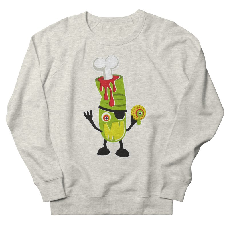 BAD TOUCH Women's French Terry Sweatshirt by theGHOSTHEART's artist shop