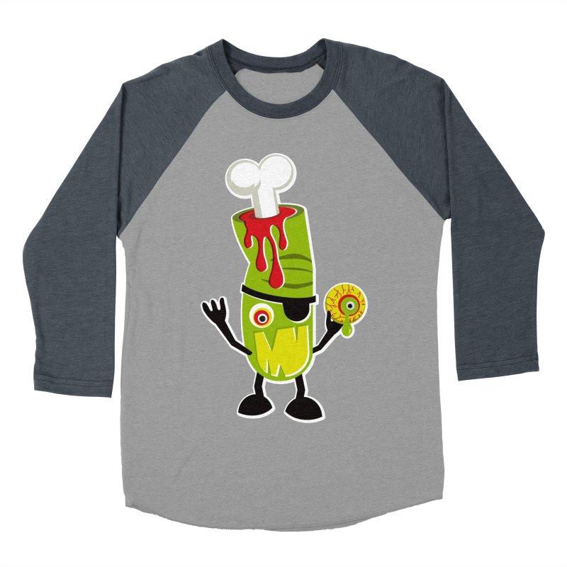 BAD TOUCH Men's Baseball Triblend Longsleeve T-Shirt by theGHOSTHEART's artist shop