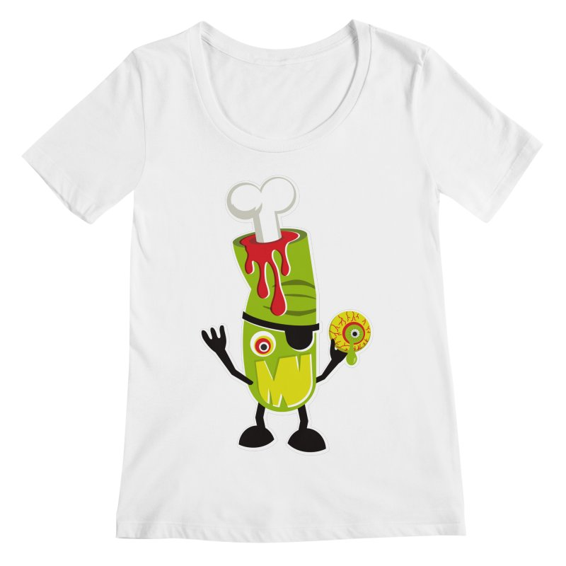 BAD TOUCH Women's Regular Scoop Neck by theGHOSTHEART's artist shop