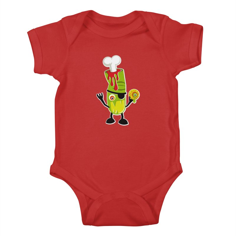 BAD TOUCH Kids Baby Bodysuit by theGHOSTHEART's artist shop