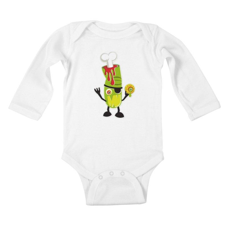 BAD TOUCH Kids Baby Longsleeve Bodysuit by theGHOSTHEART's artist shop