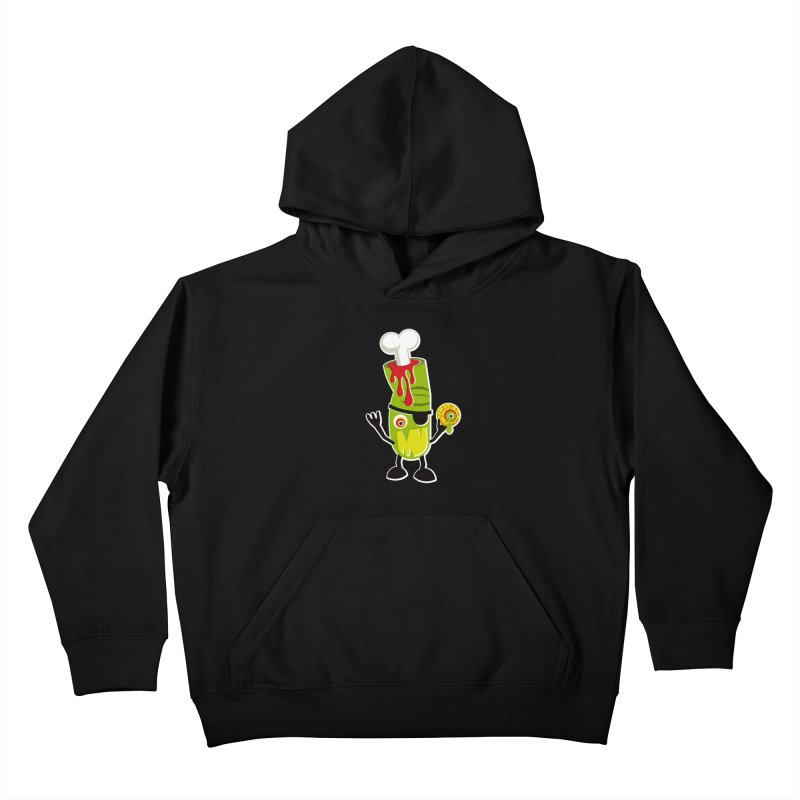 BAD TOUCH Kids Pullover Hoody by theGHOSTHEART's artist shop