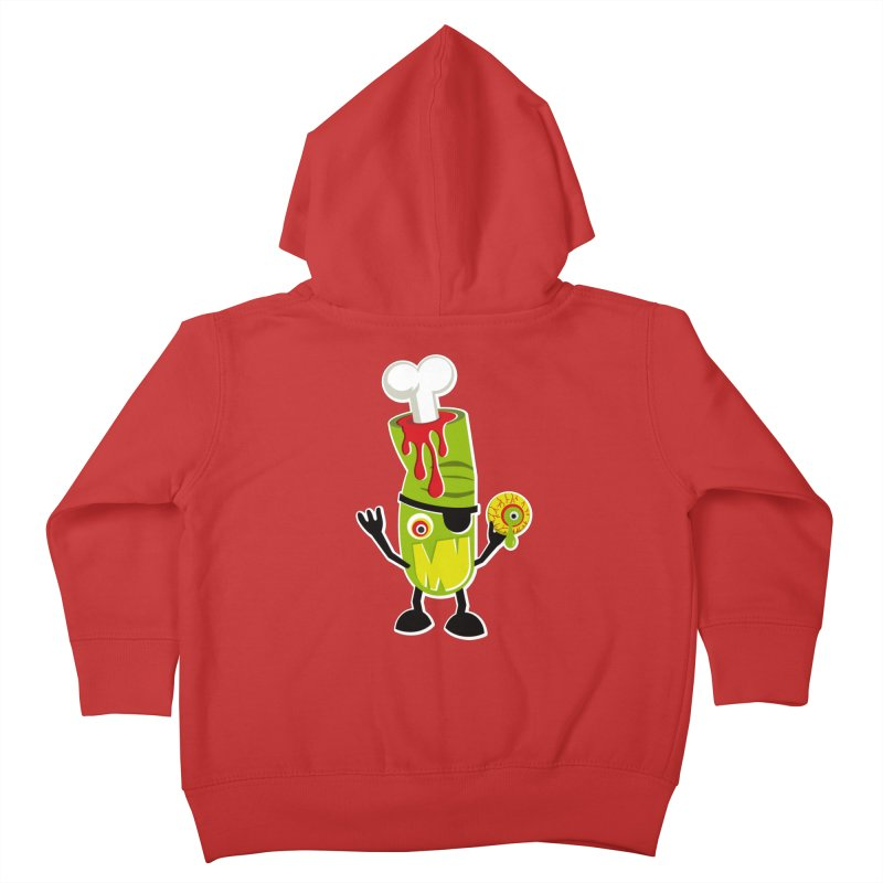 BAD TOUCH Kids Toddler Zip-Up Hoody by theGHOSTHEART's artist shop