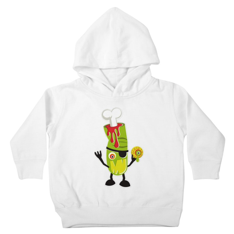 BAD TOUCH Kids Toddler Pullover Hoody by theGHOSTHEART's artist shop