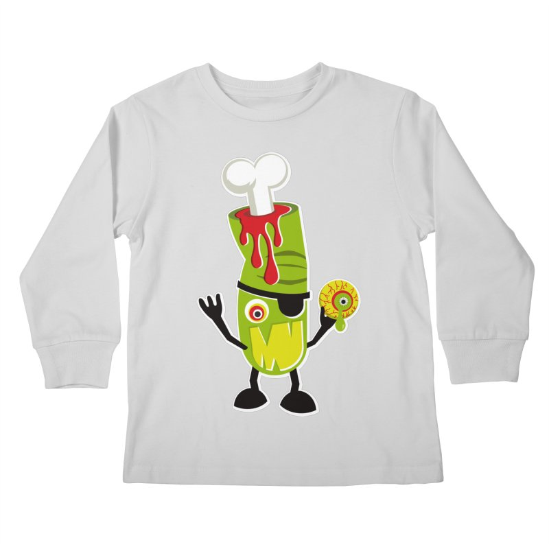 BAD TOUCH Kids Longsleeve T-Shirt by theGHOSTHEART's artist shop