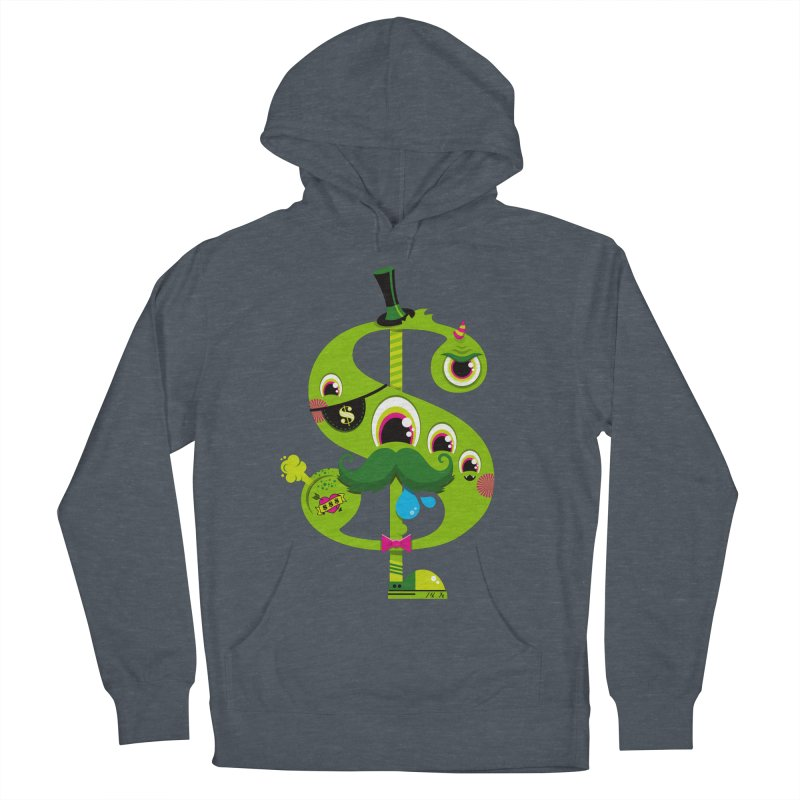 MO' MONEY. NO PROBLEMS Men's French Terry Pullover Hoody by theGHOSTHEART's artist shop