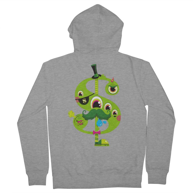 MO' MONEY. NO PROBLEMS Women's French Terry Zip-Up Hoody by theGHOSTHEART's artist shop