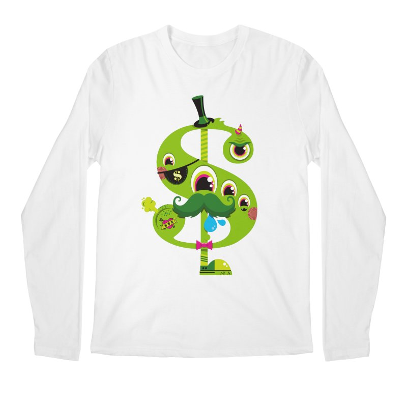 MO' MONEY. NO PROBLEMS Men's Regular Longsleeve T-Shirt by theGHOSTHEART's artist shop