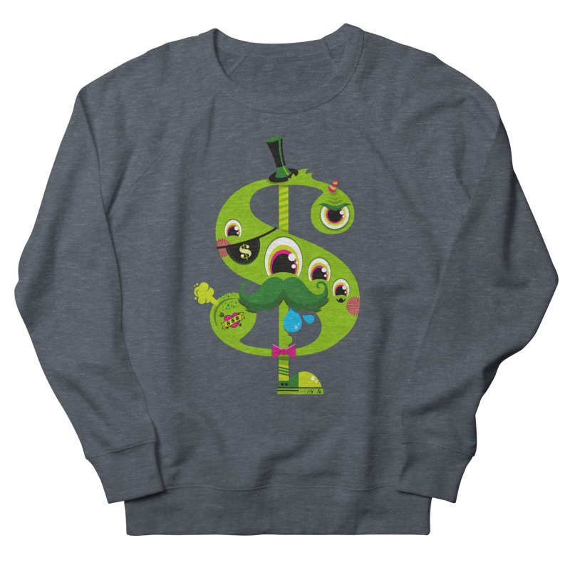 MO' MONEY. NO PROBLEMS Women's French Terry Sweatshirt by theGHOSTHEART's artist shop
