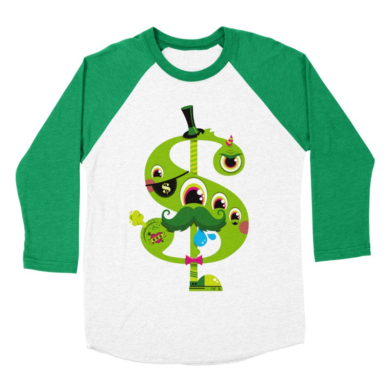 MO' MONEY. NO PROBLEMS Women's Baseball Triblend Longsleeve T-Shirt by theGHOSTHEART's artist shop