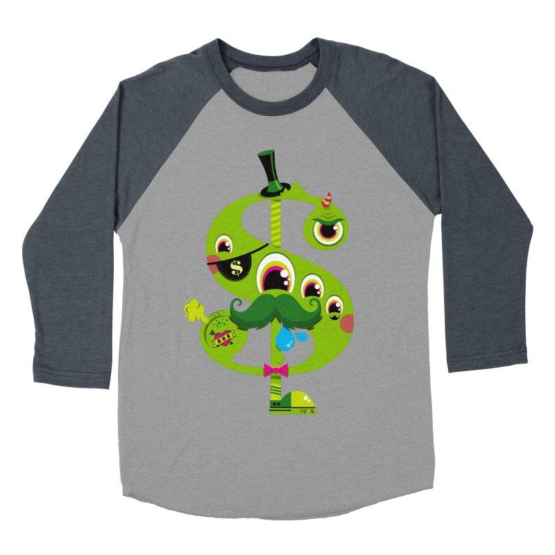 MO' MONEY. NO PROBLEMS Men's Baseball Triblend Longsleeve T-Shirt by theGHOSTHEART's artist shop