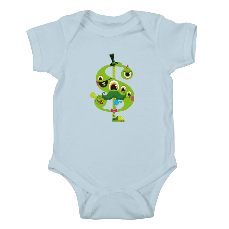 MO' MONEY. NO PROBLEMS Kids Baby Bodysuit by theGHOSTHEART's artist shop