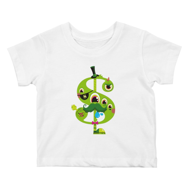 MO' MONEY. NO PROBLEMS Kids Baby T-Shirt by theGHOSTHEART's artist shop