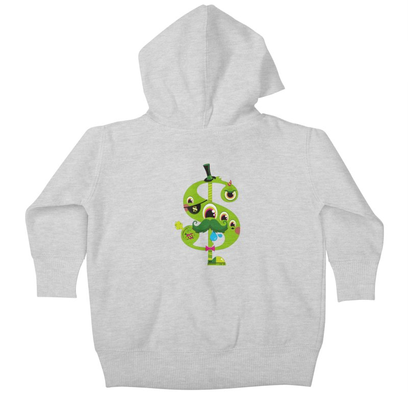 MO' MONEY. NO PROBLEMS Kids Baby Zip-Up Hoody by theGHOSTHEART's artist shop