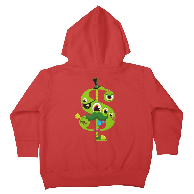 MO' MONEY. NO PROBLEMS Kids Toddler Zip-Up Hoody by theGHOSTHEART's artist shop