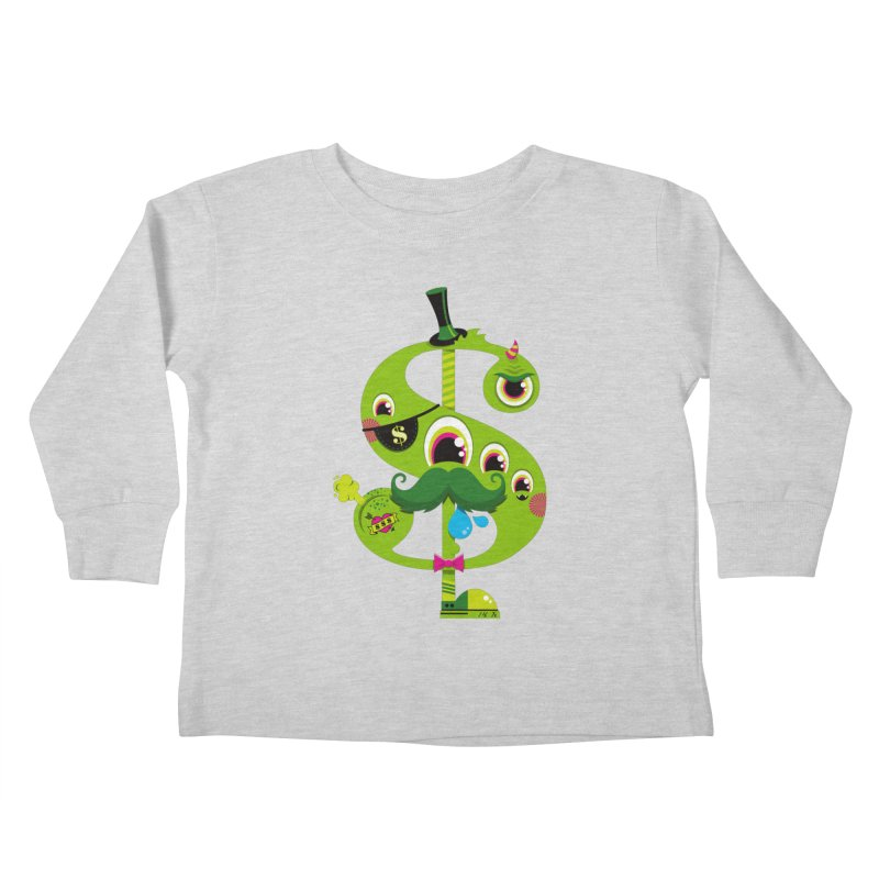 MO' MONEY. NO PROBLEMS Kids Toddler Longsleeve T-Shirt by theGHOSTHEART's artist shop